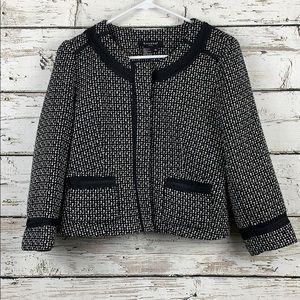 SANDRO Petite Tweed Jacket